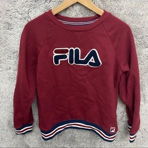 Kids Fila Sweat Shirt